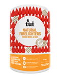 Tui Natural Firelighters - Wood Wool & Wax