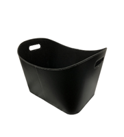 Tui Black Log Basket